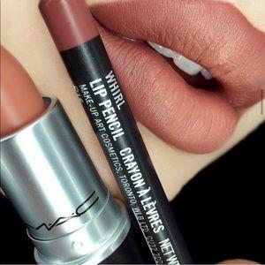 💯x2 Mac New matte Yash lipstick& Whirllipliner💯